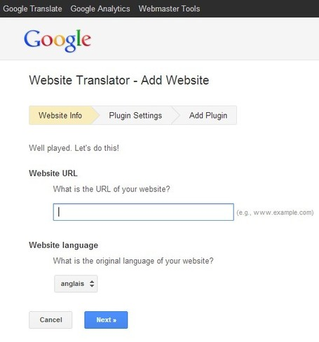 Website Translator - Add Website | 21st Century Tools for Teaching-People and Learners | Scoop.it