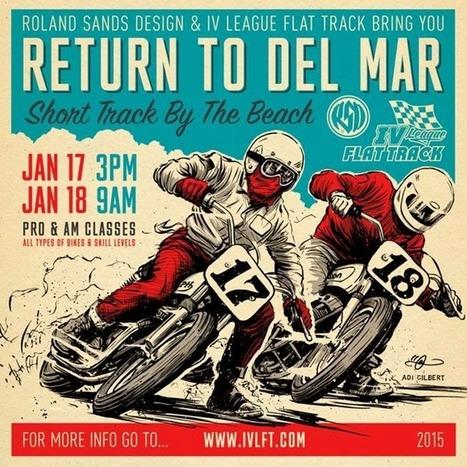 Racing at Del Mar   California Flat Track Association (CFTA)   Scoop.it