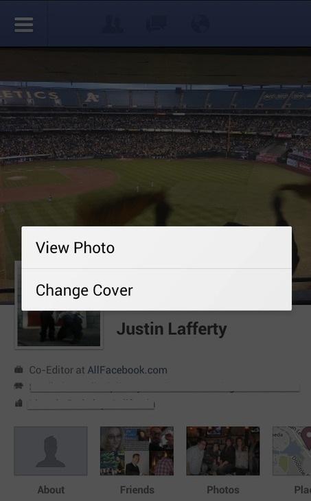 Facebook Gives Android Users Ability To Upload New Cover Photos - AllFacebook | Gouvernance web - Quelles stratégies web  ? | Scoop.it