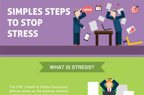 [Infographic] Simple Steps to Subside Stress | Employee Engagement - Hppy Scoop | Scoop.it