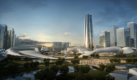 amphibianArc forms organic yichang new district masterplan | architecture&design | Scoop.it