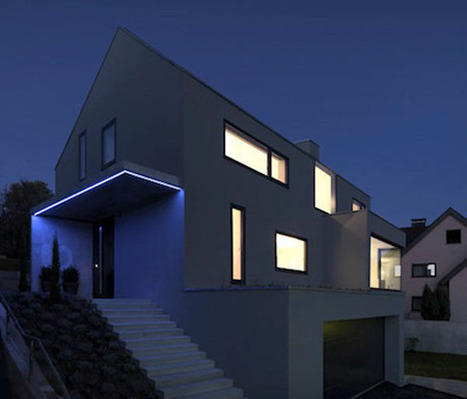 German Dream Home Focusing On Use Of Natural Light | Design | News, E-learning, Architecture of the future at news.arcilook.com | Architecture e-learning | Scoop.it