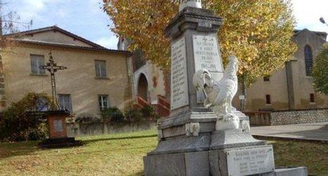Le monument aux morts rénové avant le 11-Novembre - ladepeche.fr | monument aux morts 14-18 | Scoop.it