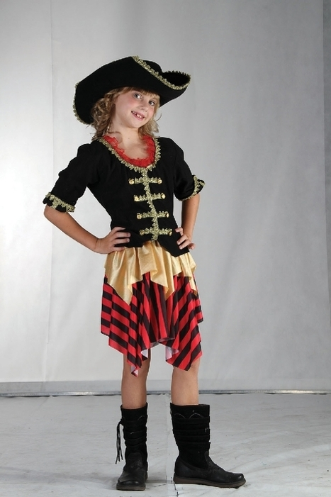 Girls Pirate/ Buccaneer Sweetie Fancy Dress Costume | Fancy Dress Ideas | Scoop.it
