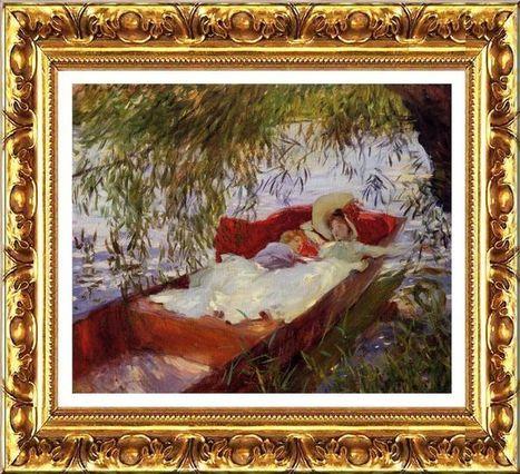Tourisme culturel (Un été au bord de l'eau) | Impressionnisme | Scoop.it