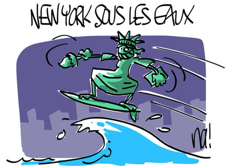 New York sous les eaux | Baie d'humour | Scoop.it