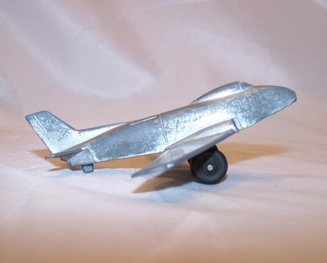 MidgeToy Silver Diecast Toy USAF Airplane USA, Midge Toy - Vintage (Pre-1970) | English Learning House | Scoop.it