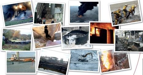1213 accidents technologiques enregistrés en 2014   décroissance   Scoop.it