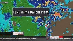 Les opérations en plein air, à la centrale, sont suspendues à cause de la pluie | NHK WORLD French | Japon : séisme, tsunami & conséquences | Scoop.it