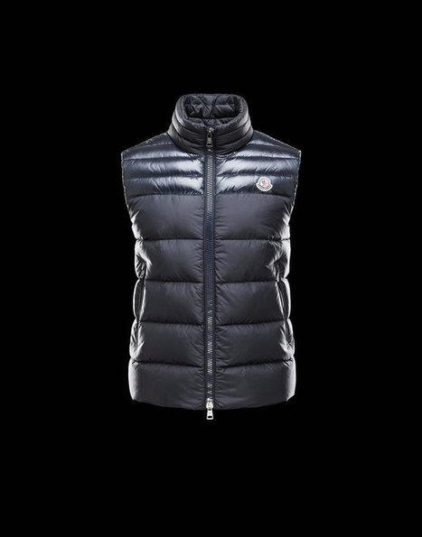 Moncler 2013 Mens Vests Dupres Black for Sale Online | Air Jordan shoes | Scoop.it