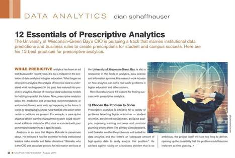 Campus Technology : August 2014, Page 11 | Learning Analytics in Higher Education | Scoop.it