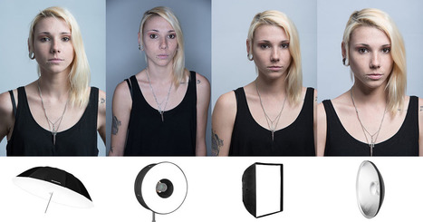 This is What Different Light Modifiers Do for Studio Portraits | xposing world of Photography & Design | Scoop.it