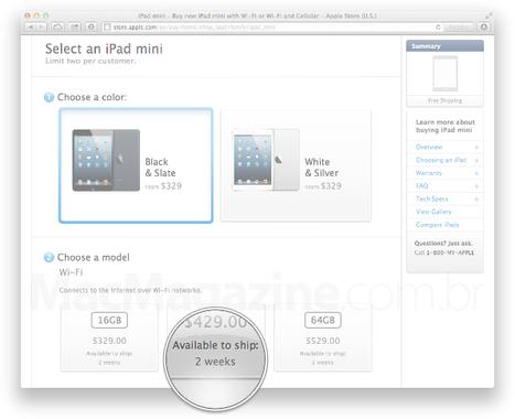 Começam as vendas de iPads Wi-Fi + Cellular nos Estados Unidos   Apple iOS News   Scoop.it