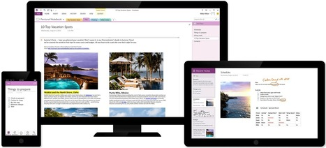 Microsoft OneNote   The digital note-taking app for your devices   University Teaching & Learning التدريس و التعليم الجامعي   Scoop.it