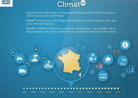 ClimatHD : le climat passé et futur en France –  Météo-France   Enseigner l'Histoire-Géographie   Scoop.it