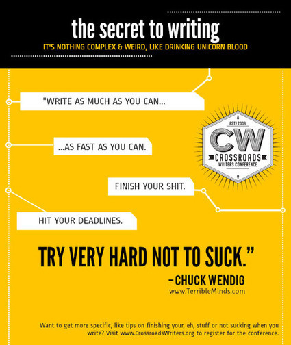 25 Motivational Thoughts For Writers | Transmedia: Storytelling for the Digital Age | Scoop.it