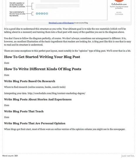4-Step System For Writing A Great Blog Post, Even With Writers Block | Blogging Freelance | Scoop.it