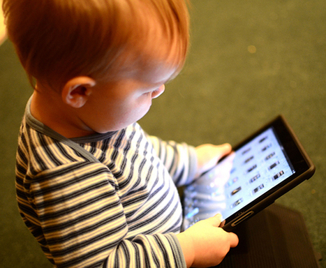 Discovering That Your 18-Month-Old Is Using an iPad in Pre-School | Studying Teaching and Learning | Scoop.it