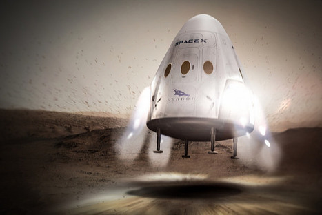 SpaceX Aims to Land Robotic Dragon Spacecraft on Mars In 2018 | The NewSpace Daily | Scoop.it