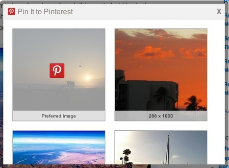 AddThis Improved Pinterest Experience Shows 20% Increase in Shares | Pinterest and Facebook Tweaking | Scoop.it