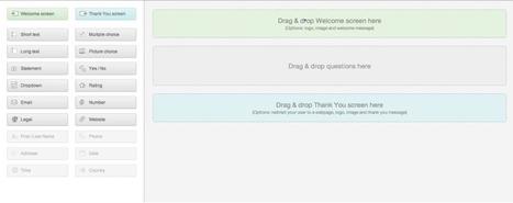 Typeform, l'outil incontournable et gratuit pour créer vos formulaires, questionnaires et sondages | Innovation et formation : e-learning, mobile, digital... | Scoop.it