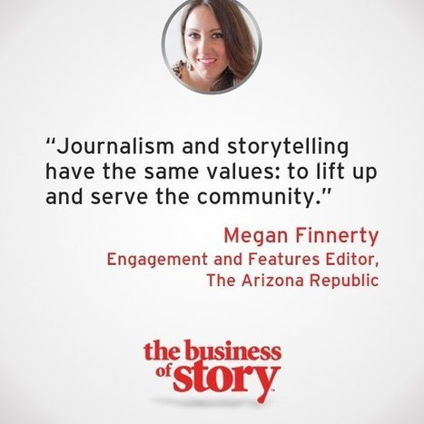 How to Engage Listeners With Experiential Storytelling With Megan Finnerty | Story and Narrative | Scoop.it