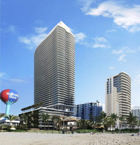 Hollywood skyline about to change with new beachfront tower - Sun-Sentinel | CLOVER ENTERPRISES ''THE ENTERTAINMENT OF CHOICE'' | Scoop.it
