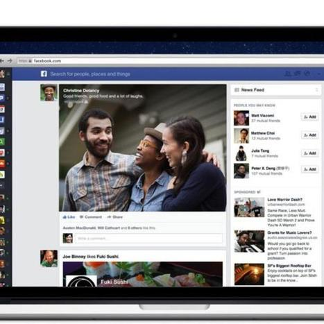 Hands On With the New Facebook | Digital Think | Scoop.it
