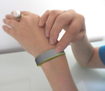 TapTap: le bracelet qui va faire vibrer les couples éloignés | connected home | Scoop.it