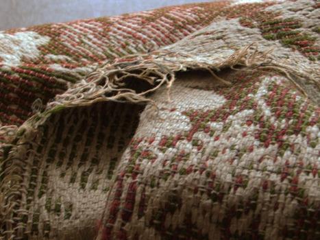 Antique Ingrain Carpet Yardage - Vintage Rising | Vintage Passion | Scoop.it