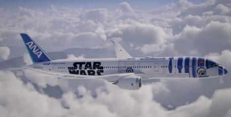 Un avion aux couleurs de Star-Wars va voler vers une destination inconnue ! | Yantez | Scoop.it