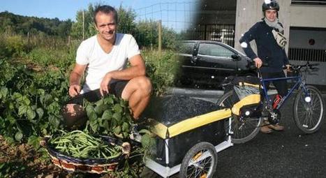 Le panier d'Alexandre : des fruits et légumes bio livrés chez vous à vélo | Des 4 coins du monde | Scoop.it