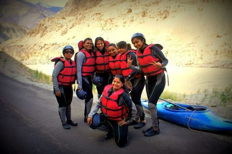 Rafting: Before The Great Adventure   Ladakh Adventure Trip June 2013   Scoop.it