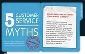 Fact or Fiction: 5 Customer Service Myths [Infographic] | Blog info | Scoop.it