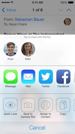 The 7 Best New and Different Features of iOS 7 | Mobile Applications | Scoop.it