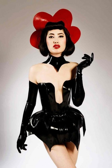 JOROGUMO . THE NEW TORTURE GARDEN CLOTHING COLLECTION | LFN - latex fetish news | Scoop.it