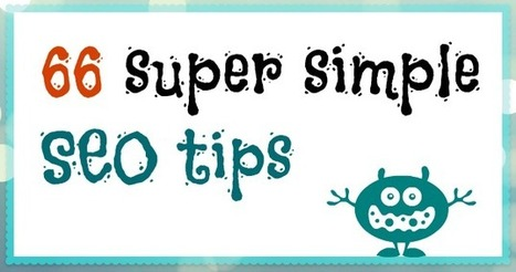66 Super Simple SEO Tips   Time to Learn   Scoop.it