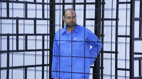 Gaddafi's son, 8 other former government officials sentenced to death by 'Libyan militia' | Saif al Islam | Scoop.it