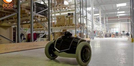 Avec son robot mobile, Eos Innovation renforce la surveillance des entrepôts | Robotique de service | Scoop.it