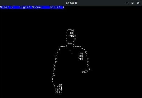 Mesmerize Yourself with ASCII Art Juggling   ASCII Art   Scoop.it