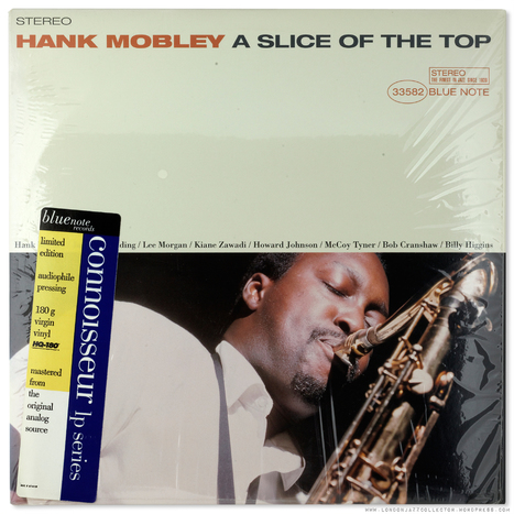 Hank Mobley: A Slice Of The Top (1966) Blue Note Connoisseur | Jazz Plus | Scoop.it