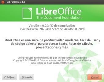 The Document Foundation lanza la versión 4.0 de Libreoffice ... | Opensource (Free or Open Code) | Scoop.it