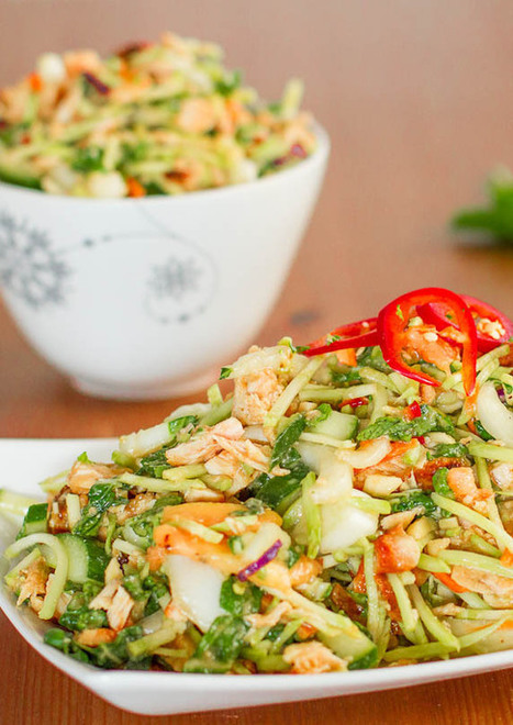 #HEALTHYRECIPE - Thai Chicken Salad | Healthy & Delicious Food | Scoop.it