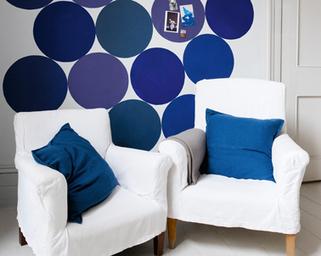 Astuce de la semaine : comment peindre des ronds parfaits sur un mur avec un adhésif de masquage- Blog - Vente Adhesif, scotch, rouleau adhesif, fixation, emballage - Adhésifs-direct.com | bricolage-professionnels | Scoop.it