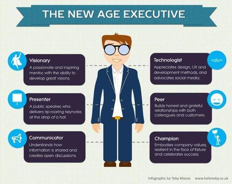Six 'must haves' for the new age executive | Digital Leaders | Scoop.it
