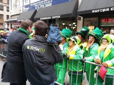 Historic New York St Patrick's Day parade to be broadcast live in Ireland for first time - Independent.ie | PHMC Press | Scoop.it