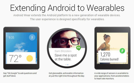 Android Wear, tecnologia indossabile firmata Google Internet of Things | HI TECH news by ECLIPSE | Scoop.it