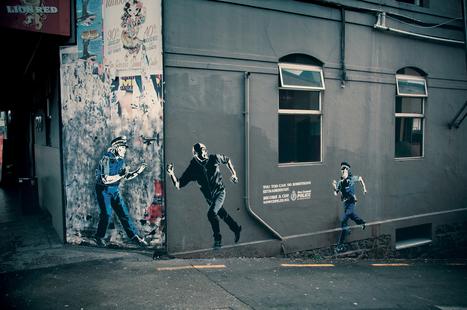 L'art de la constestation est-il un imaginaire marketable ? | Street Art, échappatoire de l'oeil | Scoop.it