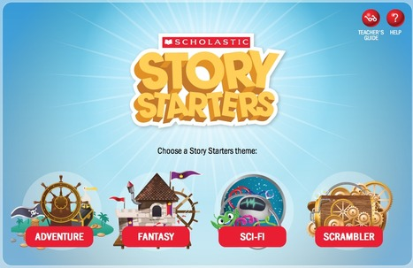 Story Starters: Creative Writing Prompts for Kids | Litteris | Scoop.it