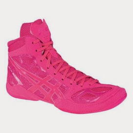 Shelly's Super Spiffy Stuff : Pink ASICS Wrestling Shoes   Fashion & Crafts   Scoop.it